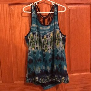 Maurice's By x By festive summer tank top